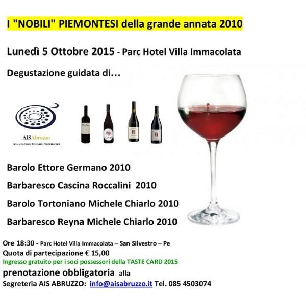 I PIEMONTESI DEG. TOP 05.10.2015