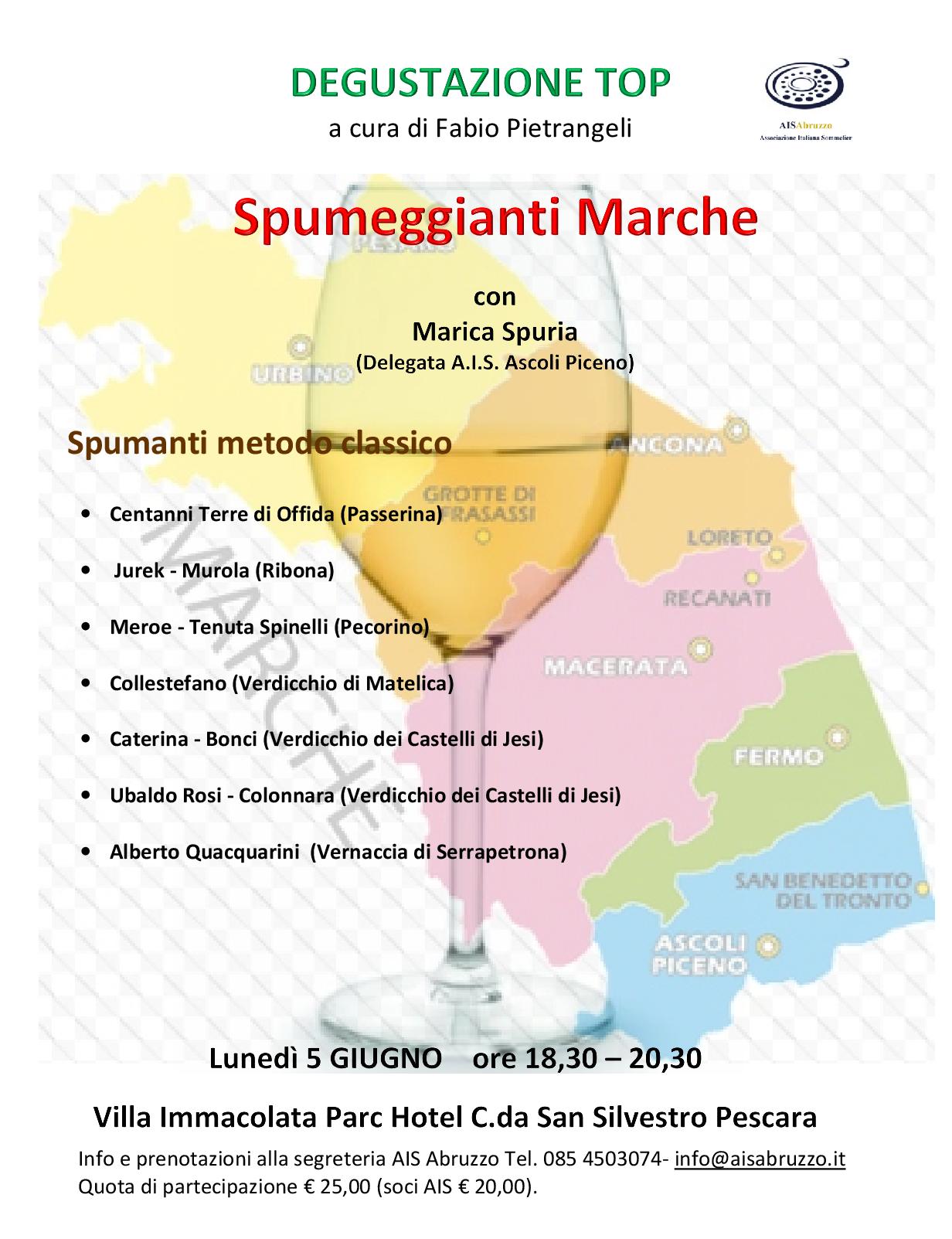 locandina con vini -5 giugno deg.top Marche