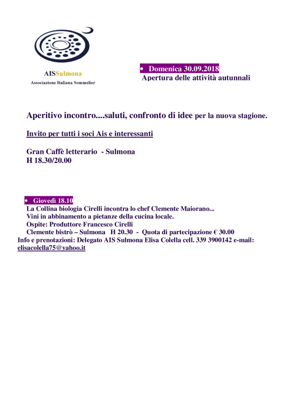 Apertura attivitàSulmona_sett-dic2018