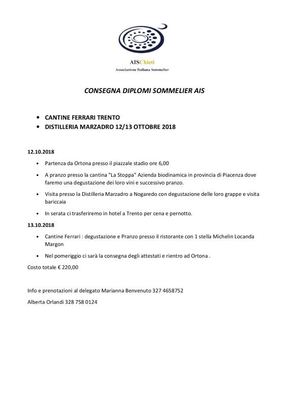 Consegna Diplomi AIS 20183