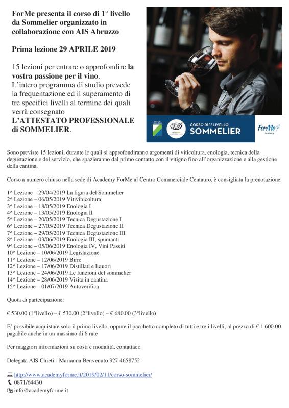 CorsoSommelierPrimoLivello_Chieti_29_Aprile2019